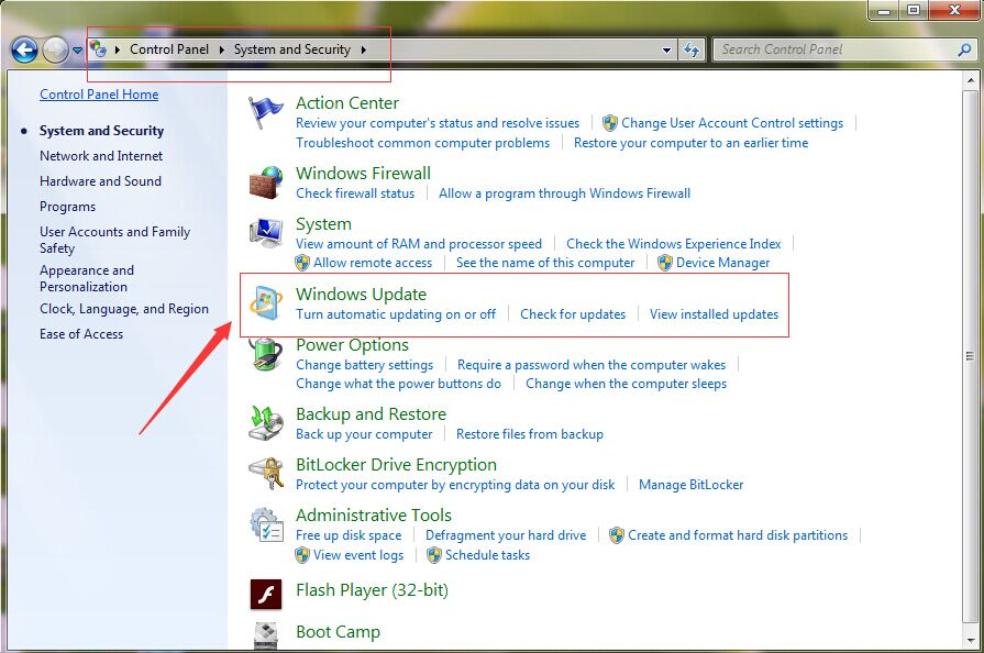 Windows 7 Update Not Working - LionSea Software