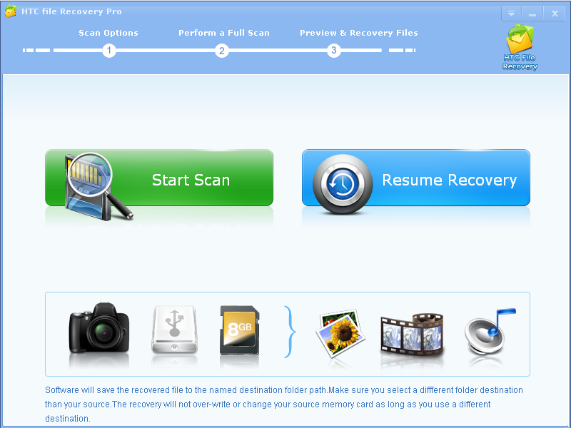 Windows 7 HTC File Recovery Pro 2.8.8 full