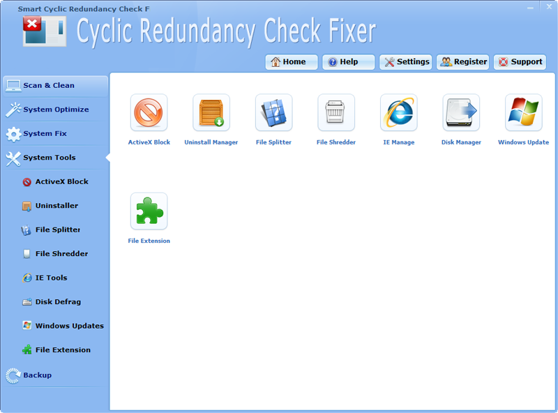 Professional Cyclic Redundancy Check Fixer Software - LionSea Software