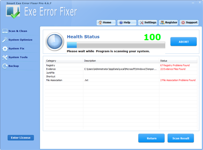 Smart Exe Error Fixer Pro