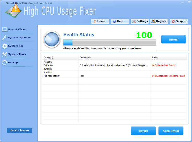 Smart High Cpu Usage Fixer Pro