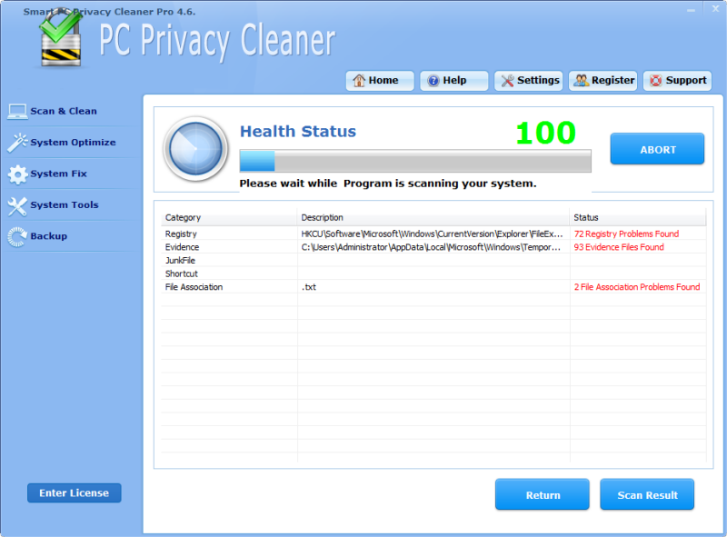 Smart PC Privacy Cleaner Pro is a best seller