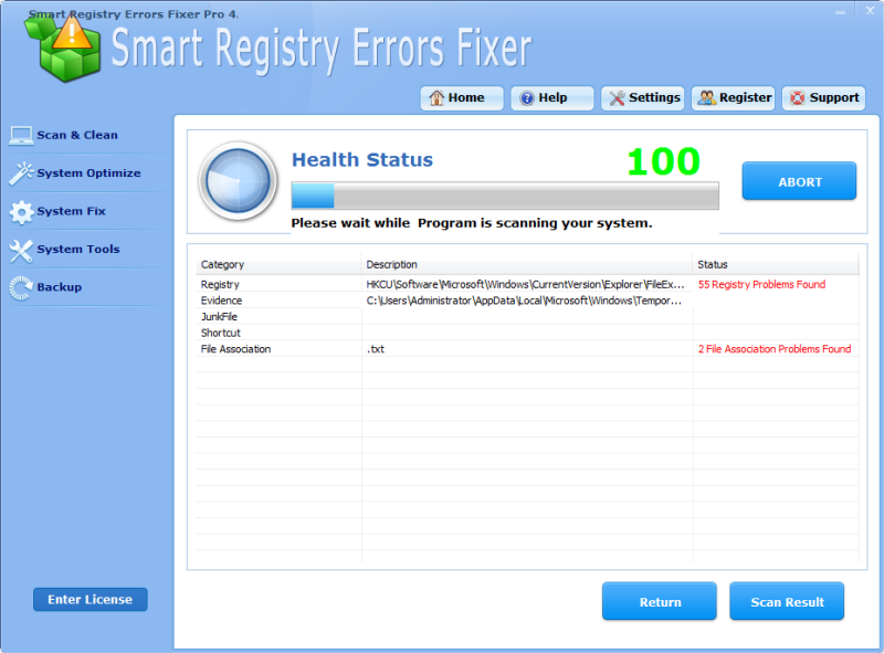 Smart Registry Errors Fixer Pro