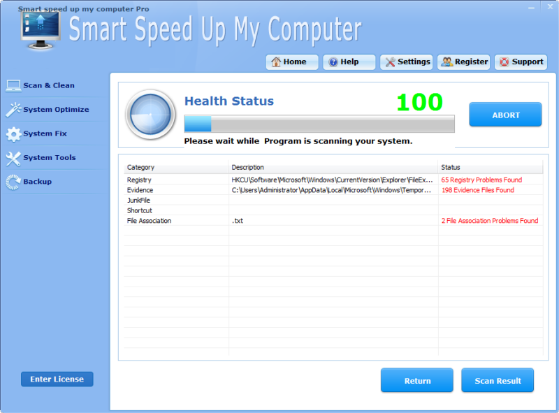 Smart Speed Up My Computer Pro