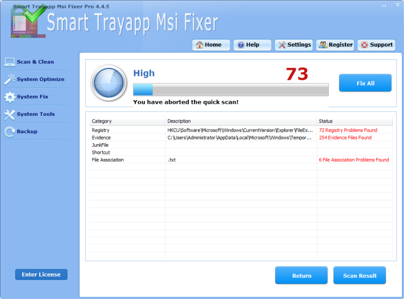 Completely Uninstall and Remove Smart Trayapp.Msi Fixer Pro 4.4.9