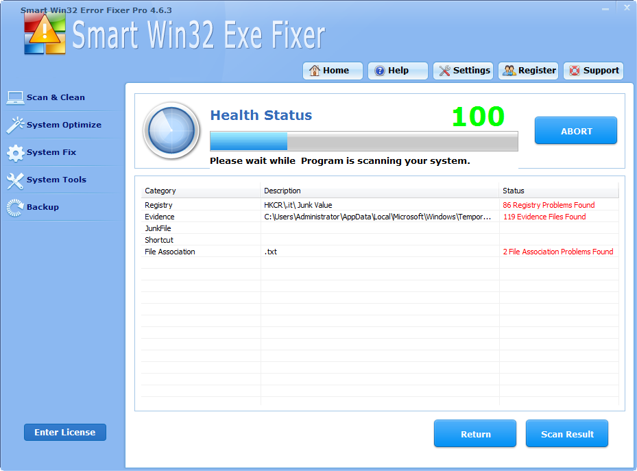 Smart Win32 Error Fixer Pro is excellent!