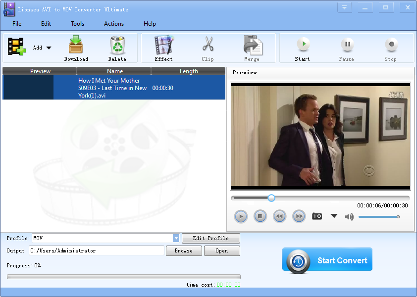 AVI to MOV Converter Software