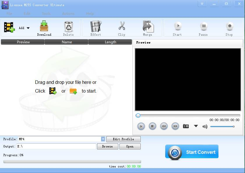 Windows 8 Lionsea M2TS Converter Ultimate full