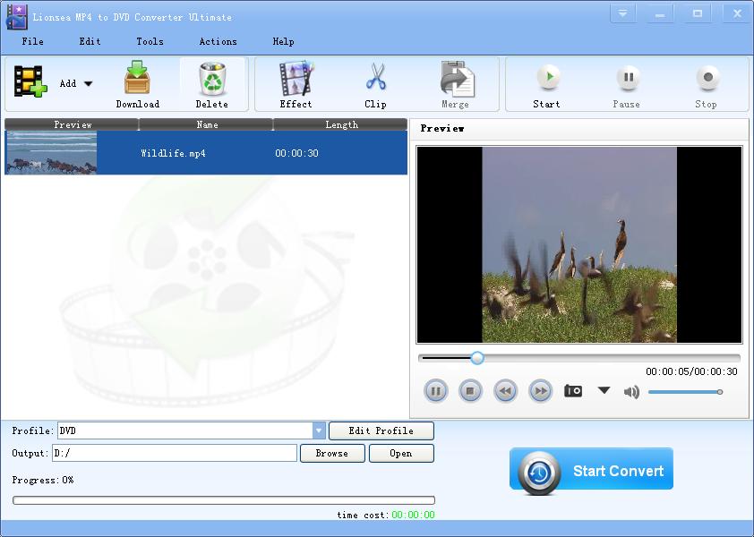 The converter help convert videos easily.