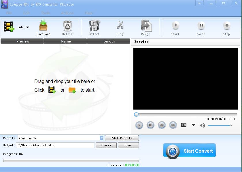 Lionsea MP4 To MP3 Converter Ultimate