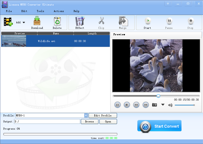 Lionsea MPEG Converter Ultimate