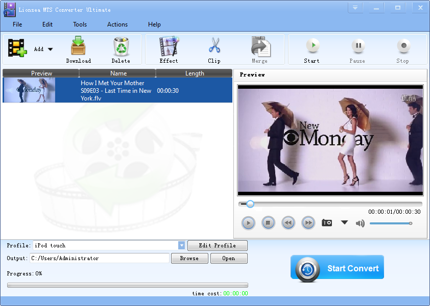 Windows 7 Lionsea MTS Converter Ultimate 4.3.3 full
