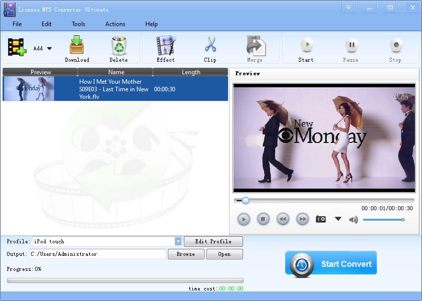 MTS Converter Software