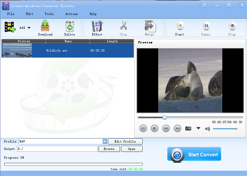 Lionsea Quicktime Converter Ultimate 4.5.5 full