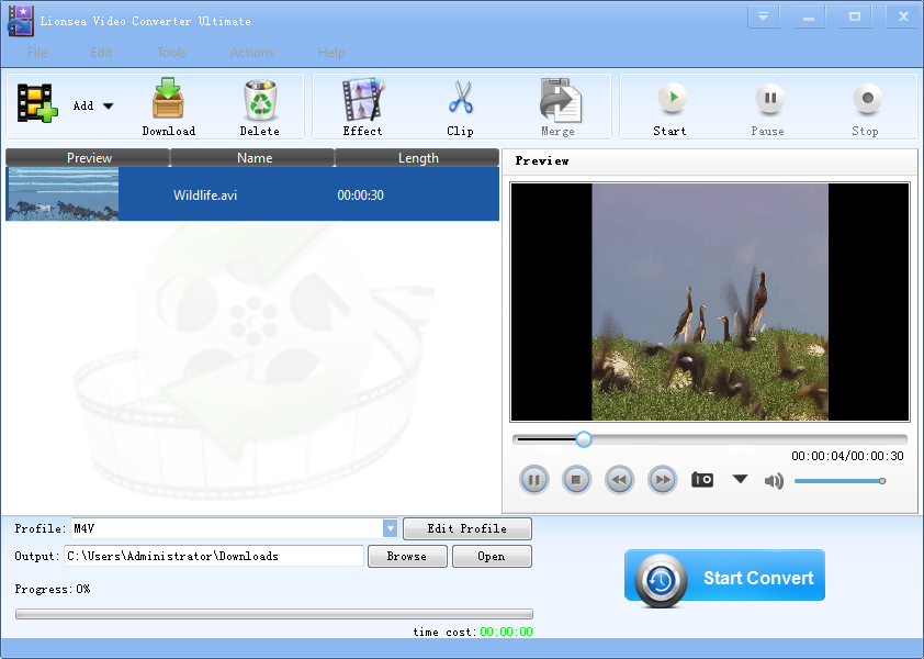 Video Converter focuses on converting videos.