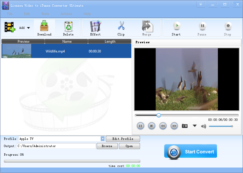 Windows 7 Lionsea Video To ITunes Converter Ultimate 4.7.2 full
