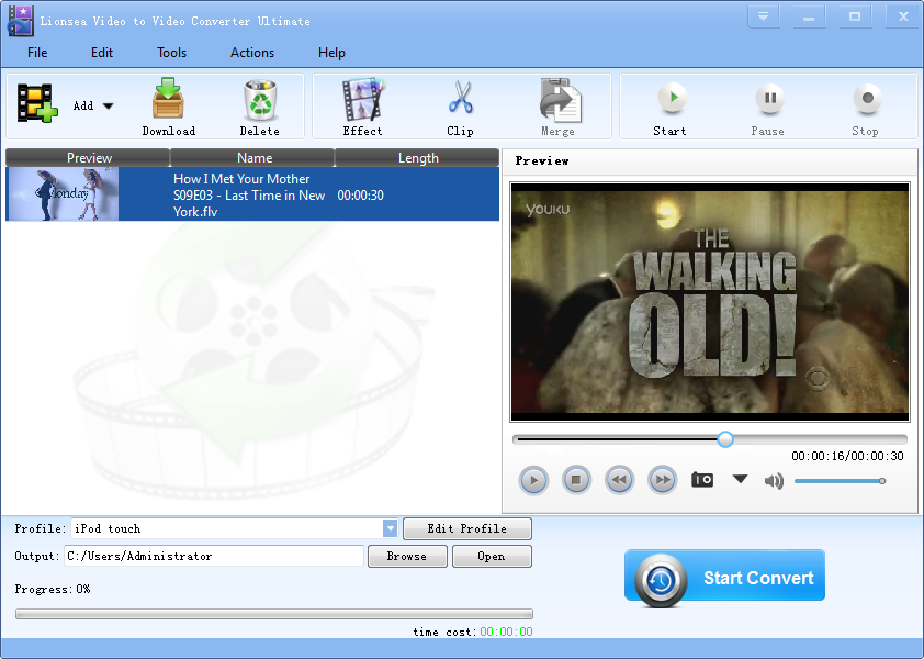 Windows 7 Lionsea Video To Video Converter Ultimate 4.6.3 full