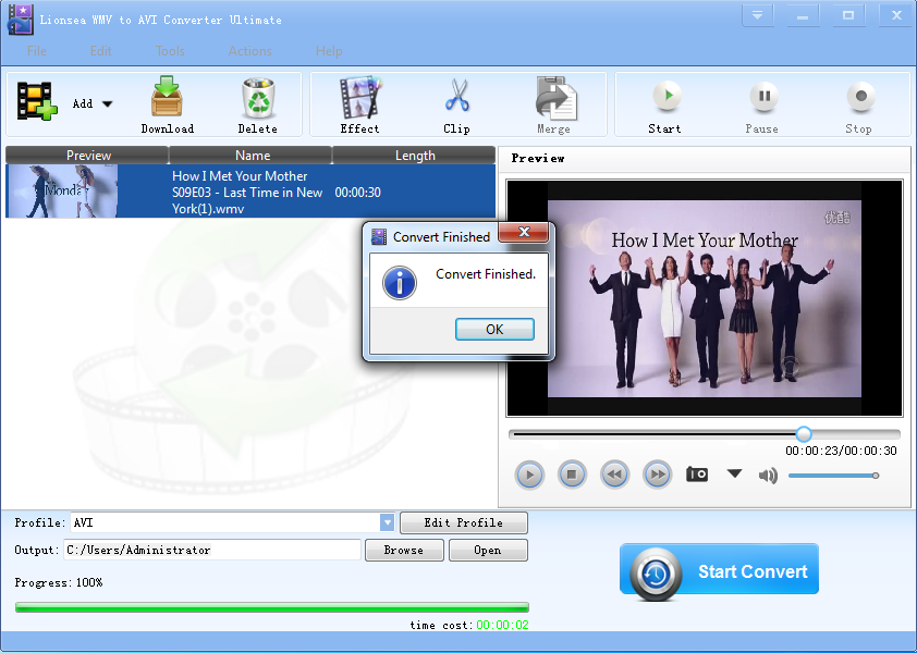 http://www.lionsea.com/download/video/Lionsea_WMV_To_AVI_Converter_Ultimate_Setup.exe