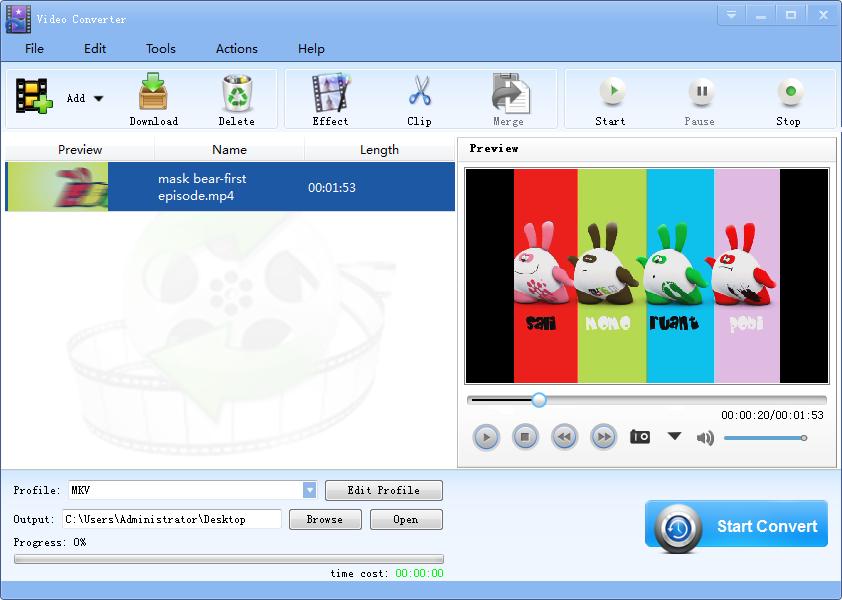 Windows 7 Lionsea Video Converter Ultimate 2.5 full