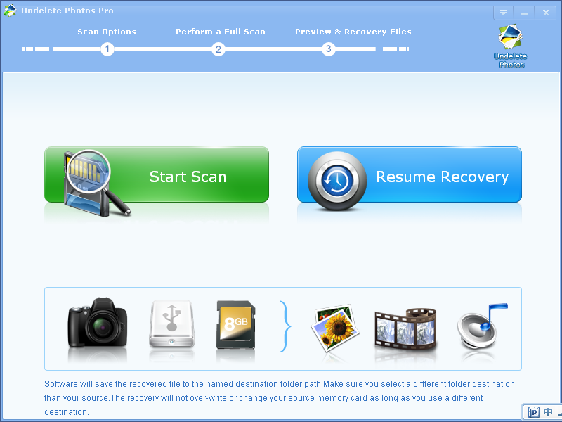 Undelete and recover lost photos from SD card